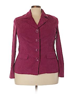 Cato Faux Leather Jacket Size 20W (Plus)
