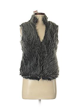MICHAEL Michael Kors Faux Fur Vest Size P