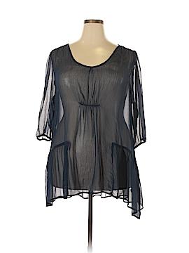 Kiyonna 3/4 Sleeve Blouse Size 1 (Plus)