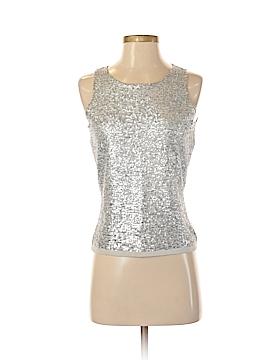 Etcetera Sleeveless Silk Top Size S