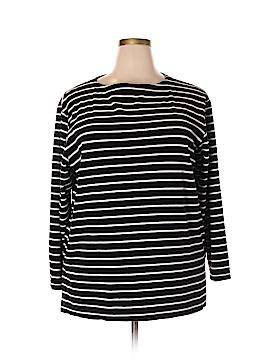 Laura Ashley Long Sleeve Top Size XL