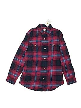 Tucker + Tate Long Sleeve Button-Down Shirt Size 10/12