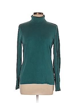 August Silk Turtleneck Sweater Size L