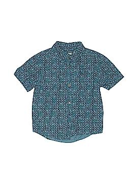 Genuine Kids from Oshkosh Short Sleeve Button-Down Shirt Size 5T