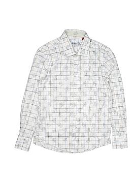 Robert Graham Long Sleeve Button-Down Shirt Size S (Kids)