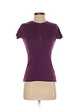 Chaps Short Sleeve Henley Size S (Petite)