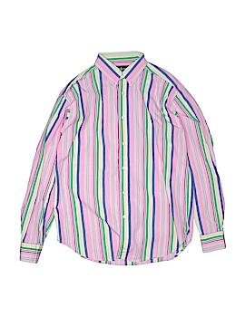 Ralph Lauren Long Sleeve Button-Down Shirt Size 12 - 14