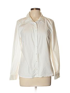 Crown & Ivy Long Sleeve Button-Down Shirt Size XL (Petite)
