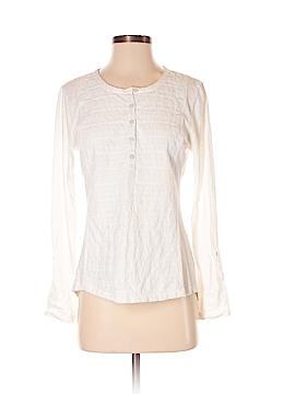 Garnet Hill Long Sleeve Henley Size XS