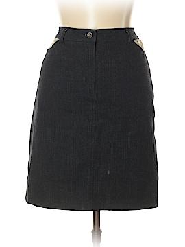 Petite Sophisticate Denim Skirt Size 12