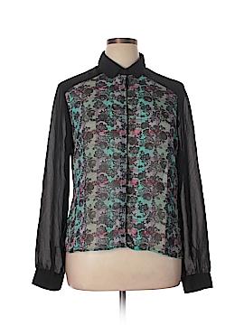 Olsenboye Long Sleeve Blouse Size XL