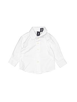 Nautica Long Sleeve Button-Down Shirt Size 3-6 mo