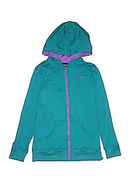 Fila Sport Zip Up Hoodie Size 10 - 12
