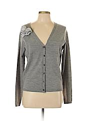 Sinclaire 10 Women Wool Cardigan Size L