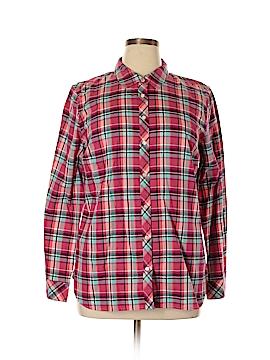 Talbots Long Sleeve Button-Down Shirt Size XL