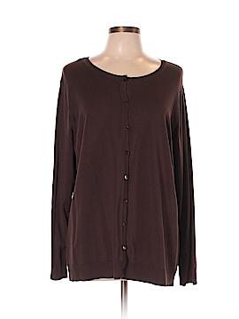August Silk Cardigan Size 3X (Plus)