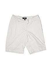 Talbots Women Khaki Shorts Size 4 (Petite)