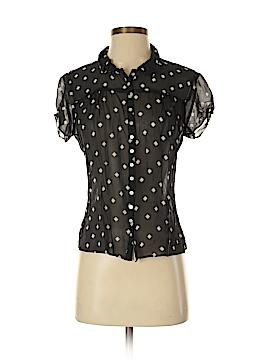 Harold's Short Sleeve Silk Top Size M