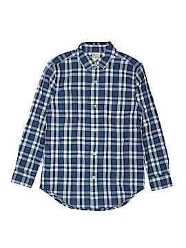 Harper Canyon Long Sleeve Button-Down Shirt Size 7 - 8
