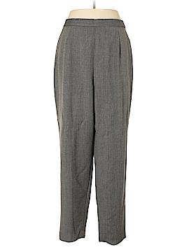 Rena Rowan Wool Pants Size 20 (Plus)