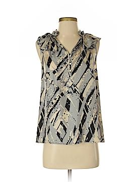 Cynthia Rowley for Marshalls Sleeveless Silk Top Size S
