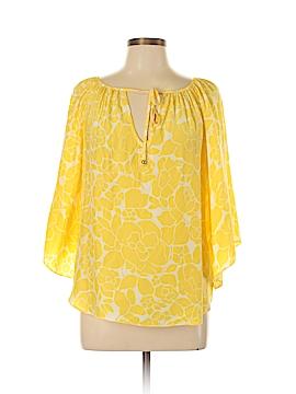 Alice & Trixie 3/4 Sleeve Silk Top Size M