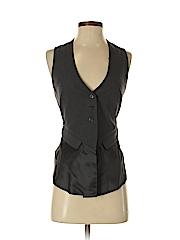 BCBGMAXAZRIA Women Tuxedo Vest Size XXS
