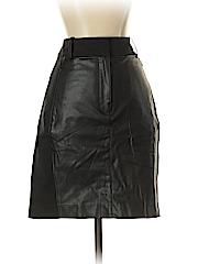 Ann Taylor Women Leather Skirt Size 2