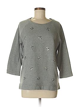 Garnet Hill Sweatshirt Size M