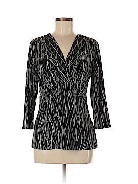 Liz & Co 3/4 Sleeve Top Size M