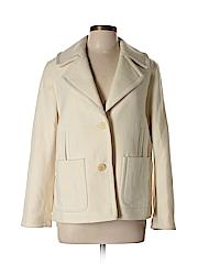 Talbots Women Wool Coat Size 12 (Petite)
