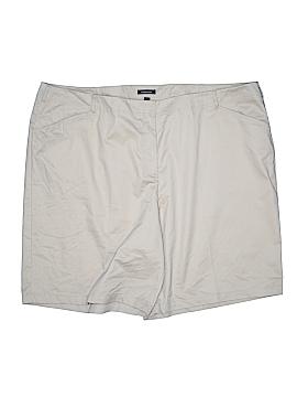 Lands' End Khaki Shorts Size 30w (Plus)