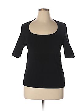 Marina Rinaldi Short Sleeve Top Size L