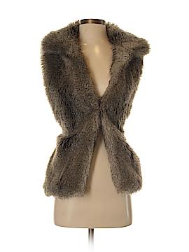 Alberto Makali Faux Fur Vest Size XS