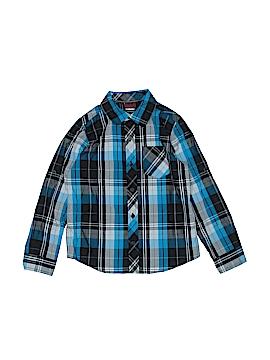 Tony Hawk Long Sleeve Button-Down Shirt Size 7
