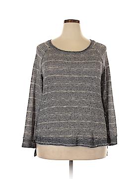 Harlowe & Graham Pullover Sweater Size 1X (Plus)