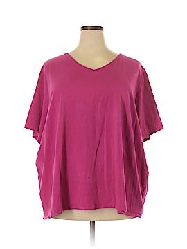 Catherine Malandrino Short Sleeve T-Shirt Size 4X (Plus)