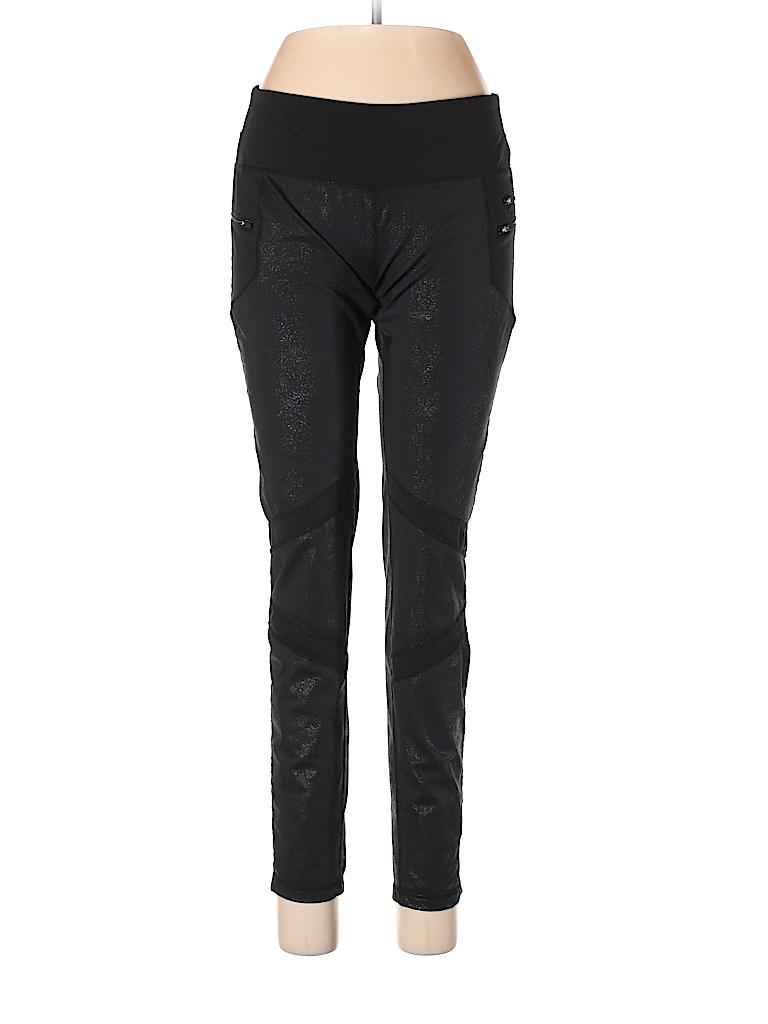 Cynthia Rowley Tjx Solid Black Active Pants Size L 44