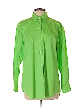 Limited London Paris New York Long Sleeve Button-Down Shirt Size S