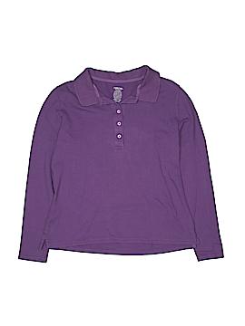 Cherokee Long Sleeve Polo Size M (Youth)