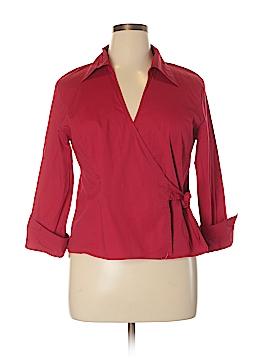DressBarn Long Sleeve Blouse Size XL