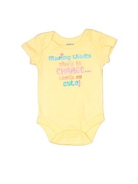 Max N' Maddie Short Sleeve Onesie Newborn
