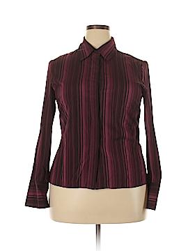 Anne Klein Long Sleeve Blouse Size 14