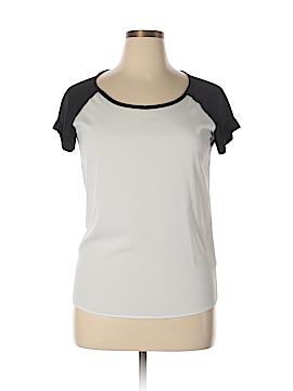 Barneys New York Short Sleeve Blouse Size M