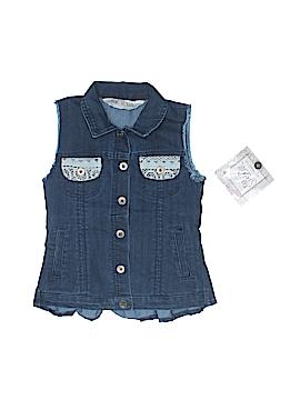 Jak & Peppar Denim Vest Size 4