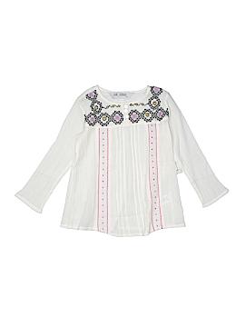Jak & Peppar Long Sleeve Blouse Size 4