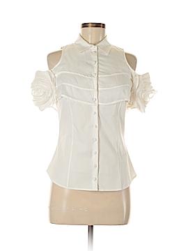 Anne Fontaine Short Sleeve Button-Down Shirt Size 38 (EU)
