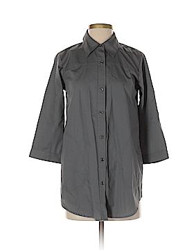 Joan Rivers 3/4 Sleeve Button-Down Shirt Size XXS
