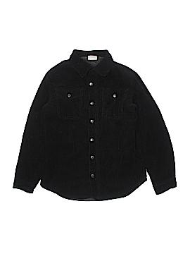 Crazy 8 Long Sleeve Button-Down Shirt Size 10-12