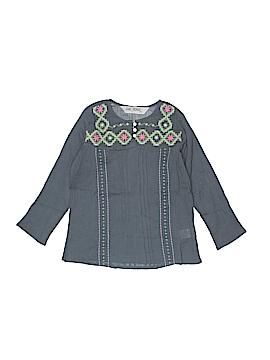 Jak & Peppar Long Sleeve Blouse Size 5
